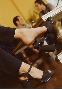Shoe Fondle